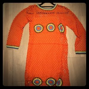 Zara crocheted dress